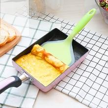 أدوات مطبخ من السيليكون أواني الطبخ ملعقة لحوم البقر البيض المطبخ مكشطة واسعة البيتزا مجرفة غير عصا الطبخ أداة