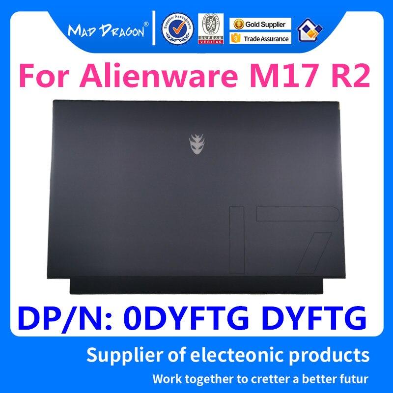Nouvel ordinateur portable d'origine nouveau noir LCD couverture supérieure LCD couverture arrière assemblée pour Dell Alienware M17 R2 nouveau M17 R2 EDQ71 0DYFTG DYFTG