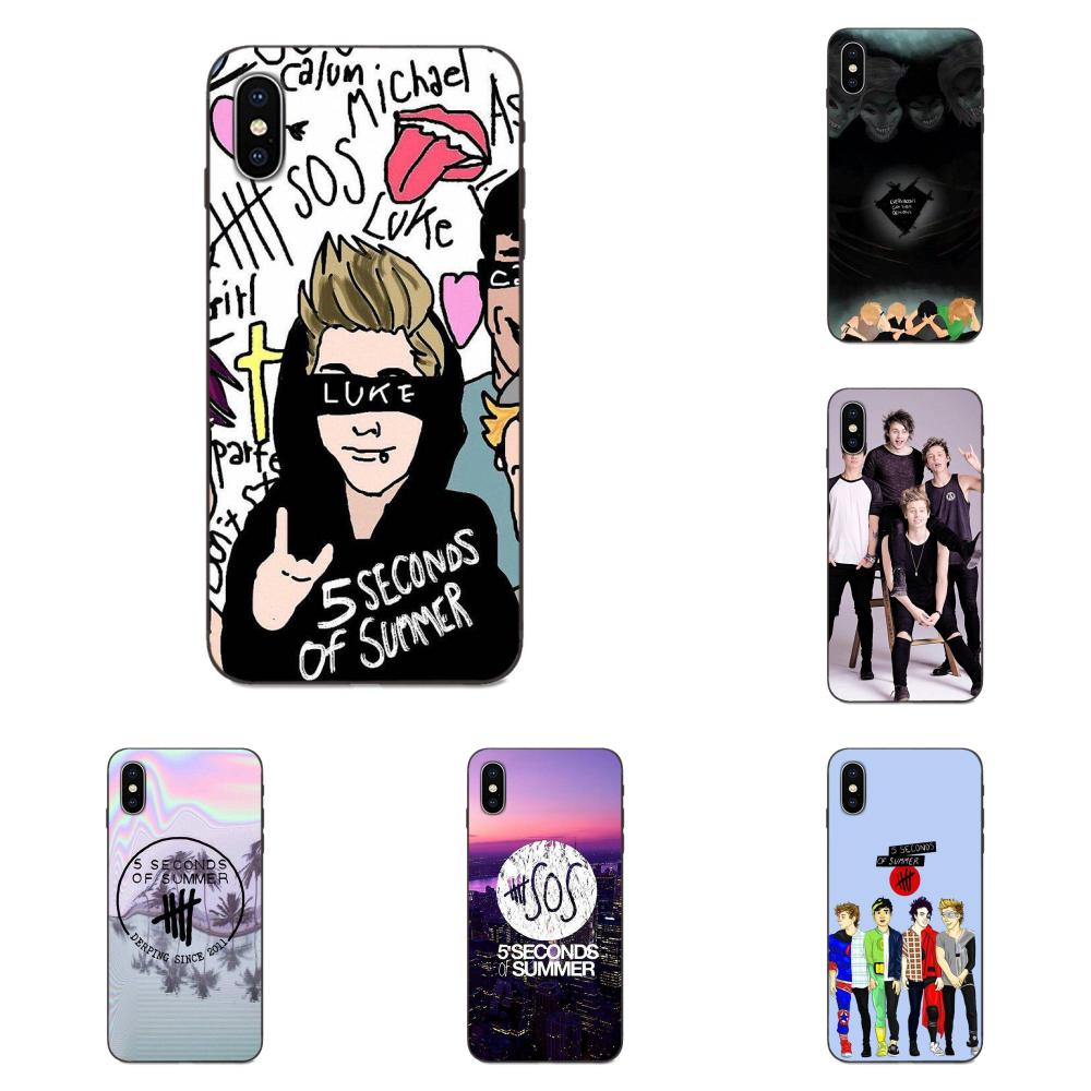 5 Seconds Of <font><b>Summer</b></font> 5sos Soft <font><b>Silicone</b></font> <font><b>Case</b></font> For <font><b>Huawei</b></font> Y3 Y5 II <font><b>Y6</b></font> Y7 Y9 nova 2 Plus 2S 3i 4 4e Lite Plus Prime 2017 <font><b>2018</b></font> 2019 image
