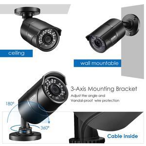 Image 4 - ZOSI 960H 1080P CVBS AHD TVI CVI CMOS Sensor Bullet CCTV Video Analog 3.6mm Home Mini HD Surveillance Camera Security Waterproof
