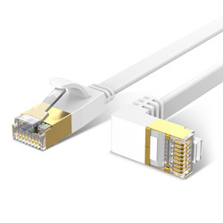 Ethernet Cable Cat6 Lan Cable UTP CAT 6 RJ 45 Network Cable 90 Degree Right Angled Patch Cord for Laptop Router RJ45 Network
