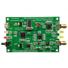 Analizator widma USB LTDZ 35-4400M źródło sygnału z modułem źródła śledzenia RF narzędzie do analizy domeny częstotliwości narzędzia DIY tanie tanio meterk CN (pochodzenie) Elektryczne 3 0-4 9 cala -89dBm i Pod Spectrum Analyzer