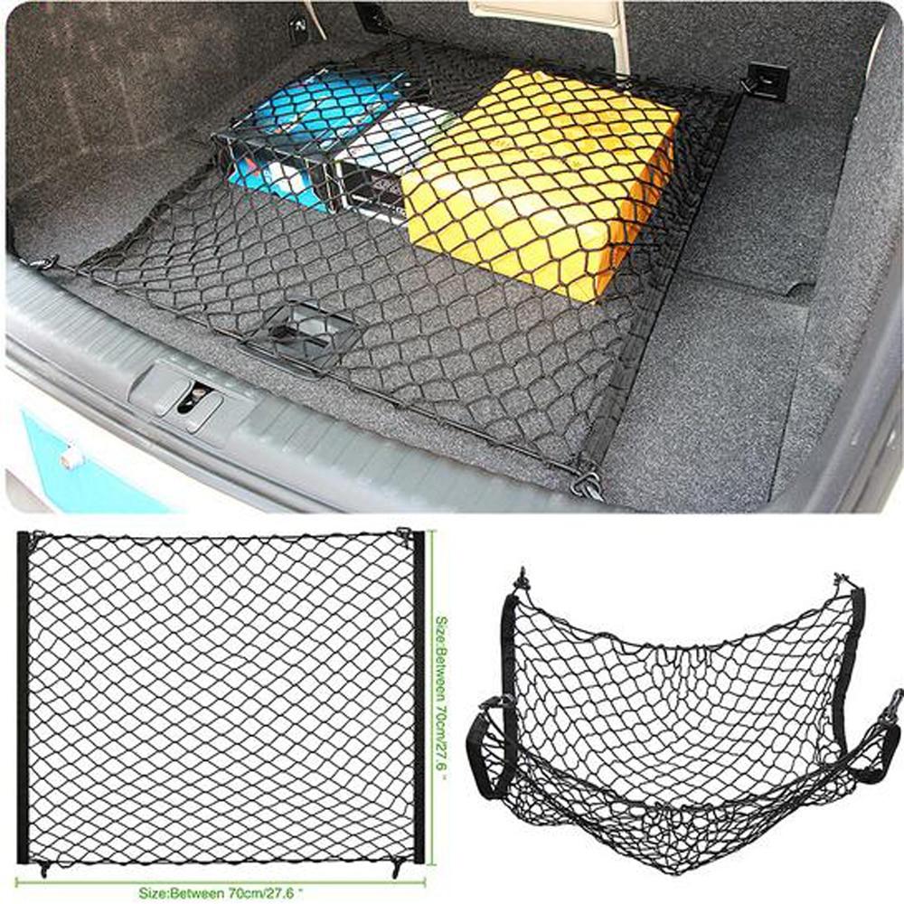 Для Mitsubishi Outlander ASX Pajero Sport Lancer багажник автомобиля сетка грузовой багаж сумка-Органайзер для багажника автомобиля аксессуары