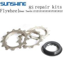 Mountain Bike Cassette Tool Denticulate Repair Part Fixed Gear 8 Speed 11T-21T MTB Cassette Bicycle Freewheel Repair Kits