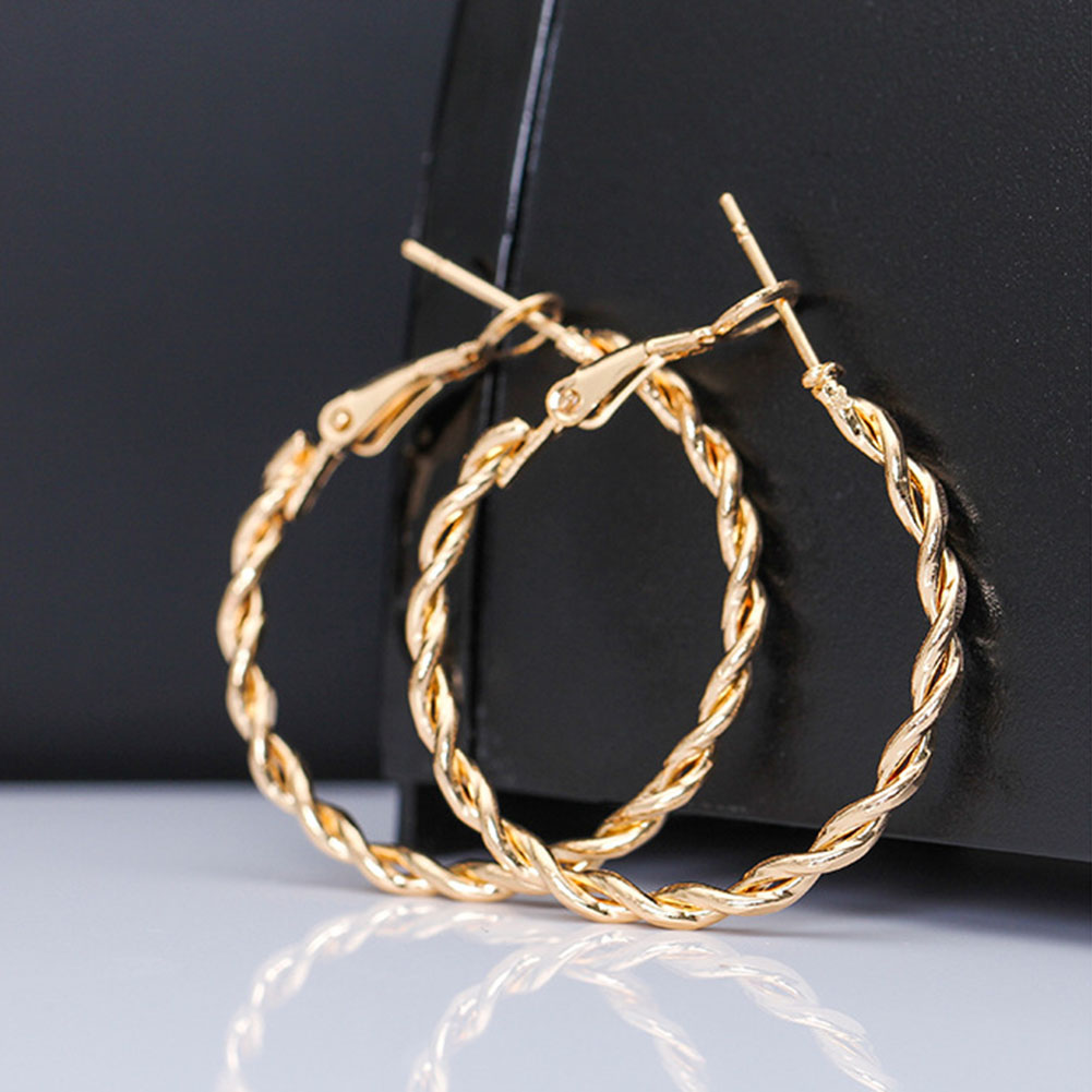 2019 Gold Earrings For Women Fashion Large Hollow Circle Earrings Ball Party Nightclub Gift Girlfriend Pledge Earrings