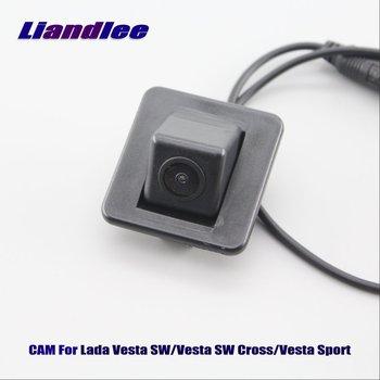 Car Rear View Reversing Camera For Lada Vesta SW Vesta SW Cross Vesta Sport Car Backup Reverse Parking Camera HD CCD Accesories