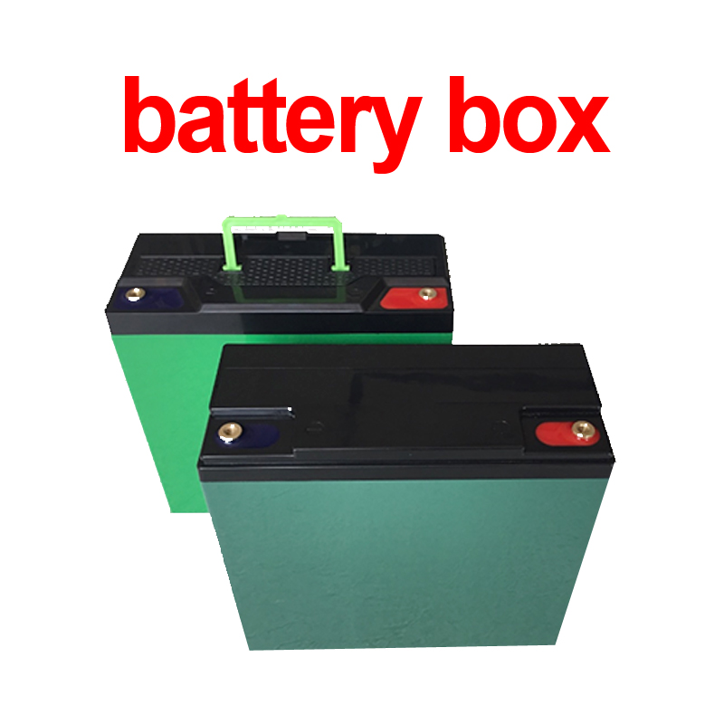 12V 20Ah ABS empty battery box battery case covering for 12v 25Ah 30Ah 24v 20Ah 15Ah 12Ah lifepo4 li ion LTO lead acid battery