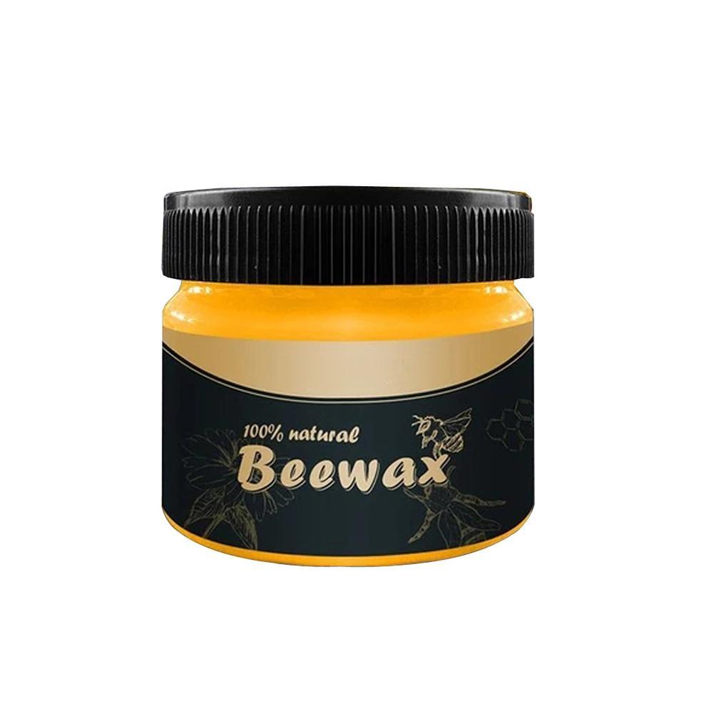 4PCS Organic Natural Pure Wax Wood Flavored Beeswax Waterproof Furniture Care Polishing Wax Cleaning Tool,home Maintenance
