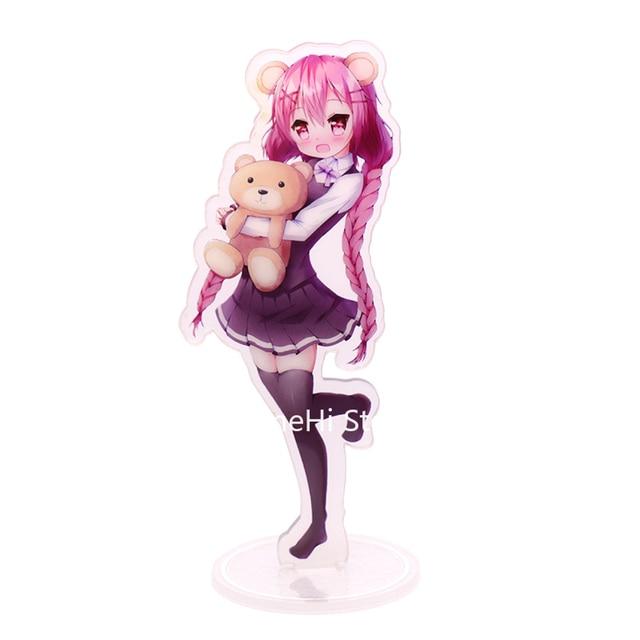 Comic Mädchen Action Figure Cosplay Anime Spielzeug Moeta Kaoruko kaosu Acryl Figuren Stehen Modell Puppen 15cm