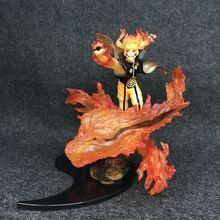 Naruto Shippuden Relation Kurama Naruto Uzumaki PVC Figure Collectible Model Toy naruto shippuden jiraiya gama bunta jiraya naruto action figure pvc collectible model toy
