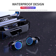 V5.0 Bluetooth Stereo Earphone Wireless IPX7 Waterproof Touch Earbuds Headset 33
