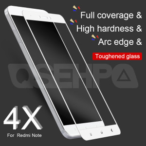 Image 2 - 9D Tempered Glass on the For Xiaomi Redmi Note 4 4X 5 5A Pro Screen Protector For Redmi 5 Plus 5A S2 4X Protective Glass Film