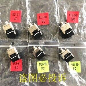 Image 3 - Orijinal EXFO OTDR EUI 91 SC konektörü FC adaptörü AXS 100 FTB 100 FTB 150 MAX 710 test cihazı optik port flanş bağlantı adaptörü