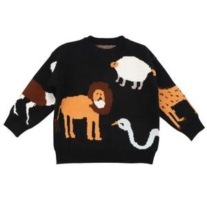 Свитер для детей, свитер для детей костюмы для маленьких мальчиков осень-зима пальто для маленьких детей, осенний вязаный арт вкладыш для малышей, свитеры для мальчиков