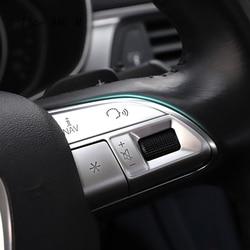AKKNE Voiture Volant Bouton Cadre d/écoration Couverture Autocollants Garniture pour BMW 1 Series 116i 118i 120i 125i 2012-2016 Accessoires int/érieurs