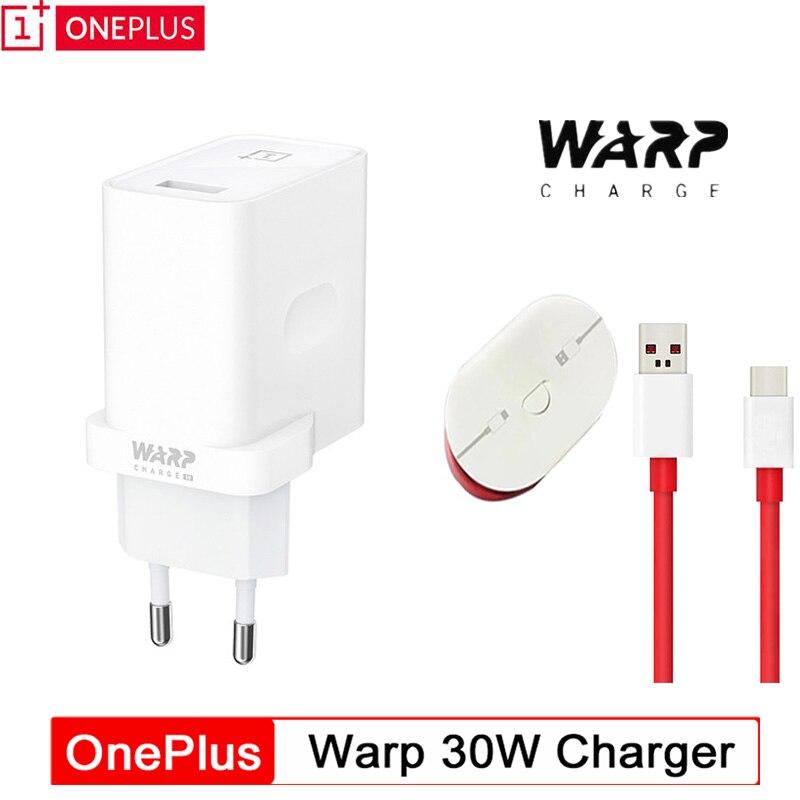Original OnePlus Warp Ladegerät Kabel 30 Power Warp 30 W EU Ladegerät Adapter EU UNS Ladegerät Kabel Schnell Brief 30 W für OnePlus 7 Pro