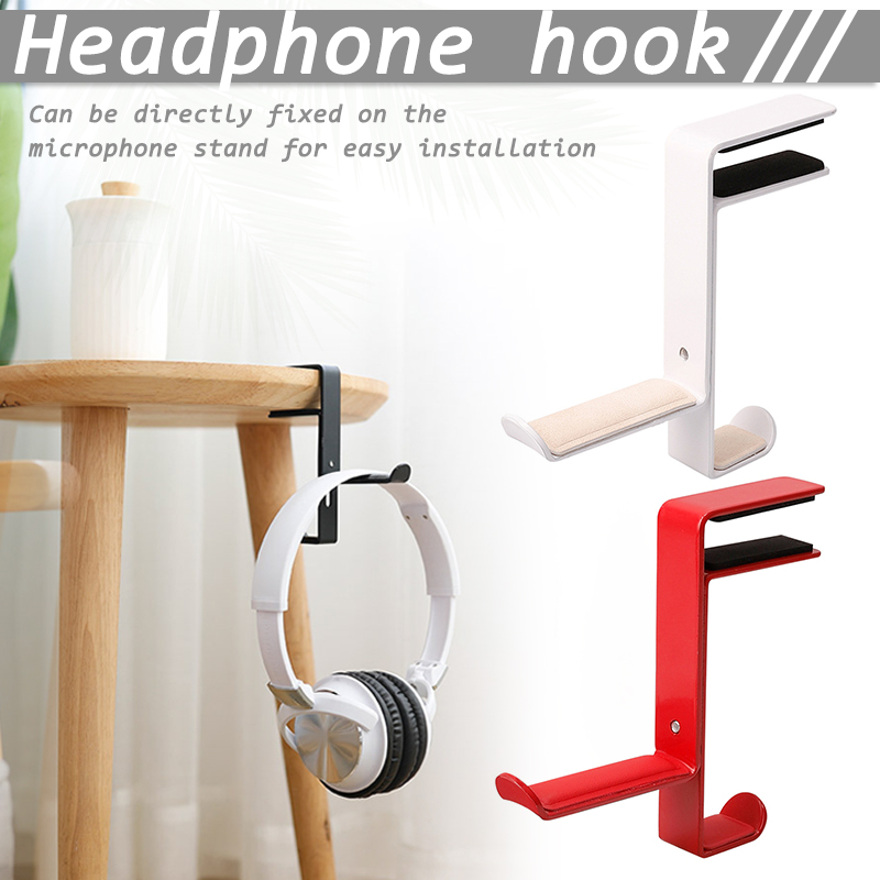 Economical Foldable Headphone Stand Hanger Table Holder Headset Bracket Space Save Mount Ds99