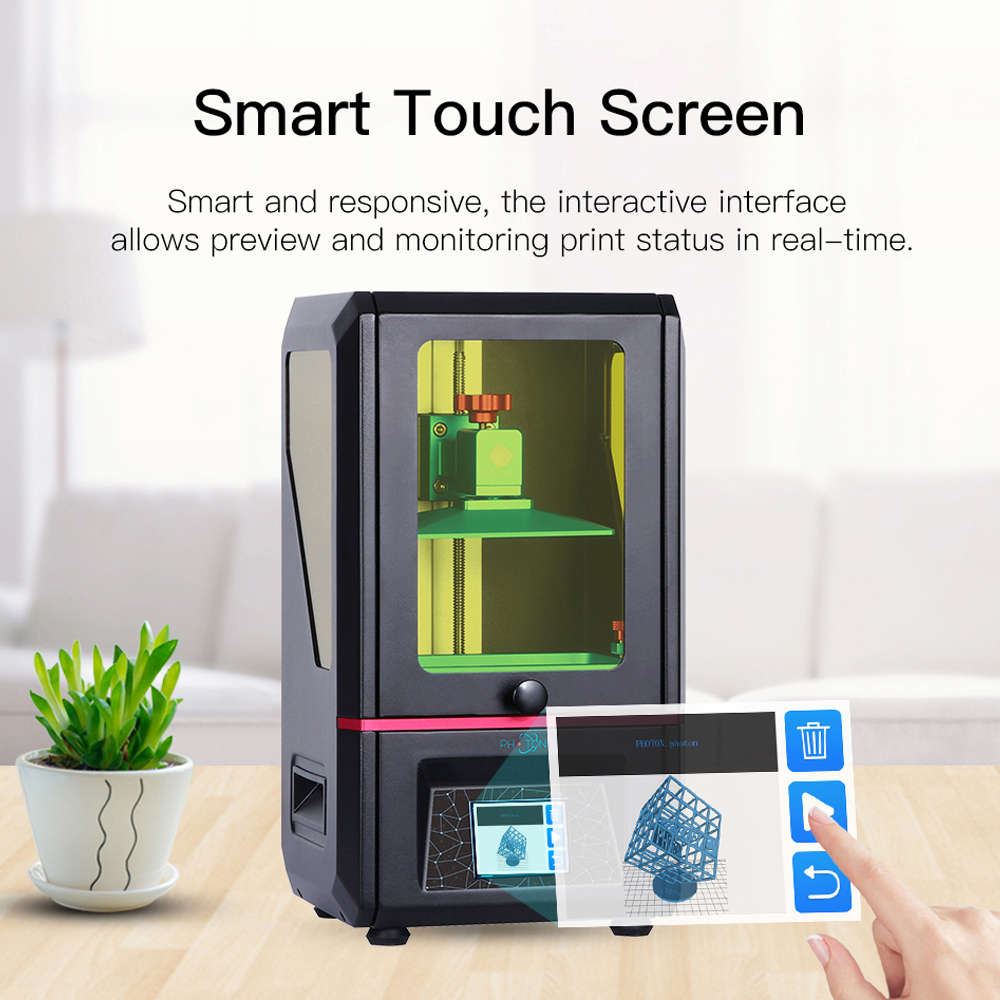ANYCUBIC Photon LCD Based SLA 3D Printer for with Touchpad for High precision Printing 1