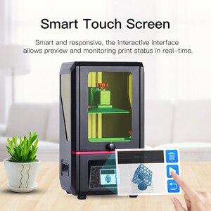Image 2 - طابعة ANYCUBIC ثلاثية الأبعاد فوتون SLA/LCD حجم كبير دقة عالية 405 UV الراتنج ضوء علاج 2K شاشة Impresora ثلاثية الأبعاد drucker
