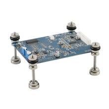 Magnetismus Magnetische Elektronische PCB Board Leuchte Clamp Platte Jig PCB Säule Für Stereo Mikroskop Elektrische Lötkolben