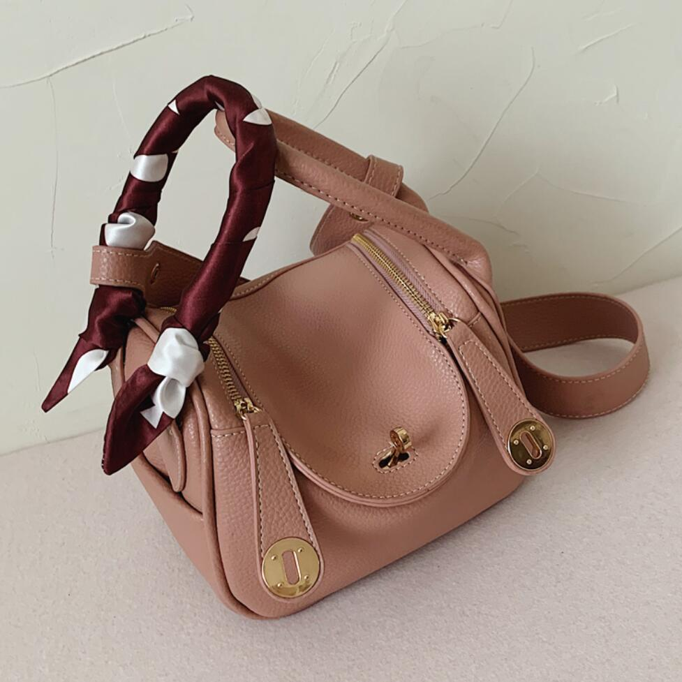 Elegant Female Tote Bucket Bag 2020 Fashion New High Quality PU Leather Women's Designer Handbag Travel Shoulder Messenger Bag
