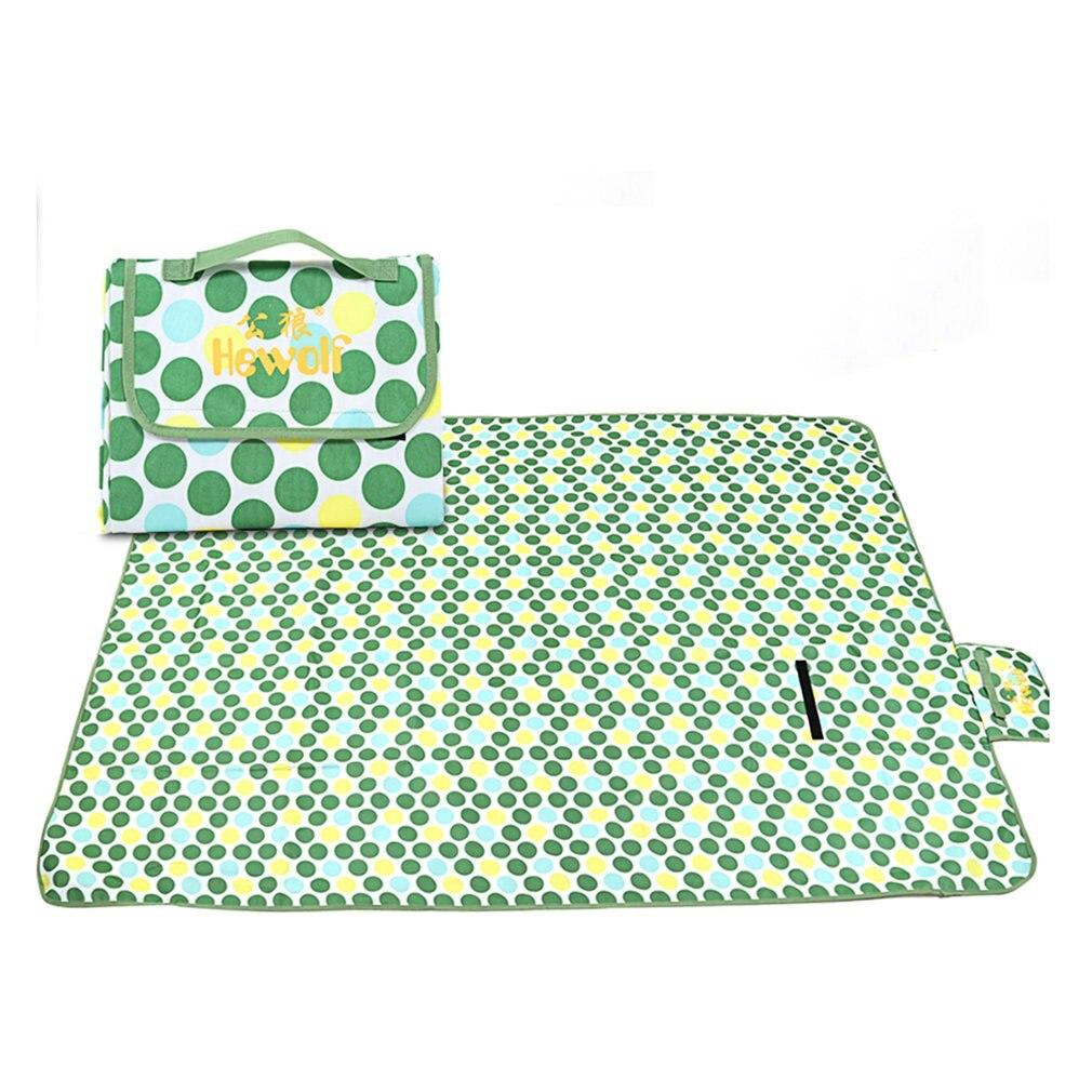 Открытый Водонепроницаемый Ткань Оксфорд газон пляжные Семья парк Пикник Коврики 2x1,5 м зеленый/синий/красный для 3 человек складной коврик