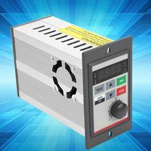 Convertidor de frecuencia de 400W 220V, inversor de frecuencia Variable monofásico V/F de bucle cerrado, Control de velocidad del Motor, VFD
