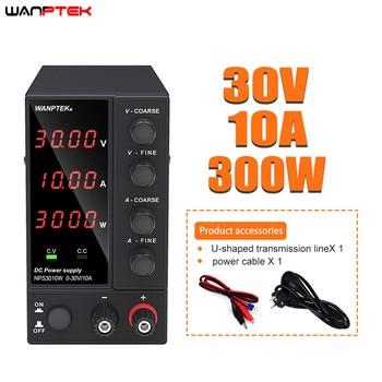 Wanptek Adjustable DC Laboratory 30V 10A Lab Power Supply Adjustable 60V 5A Voltage Regulator Stabilizer Switching Power Supply