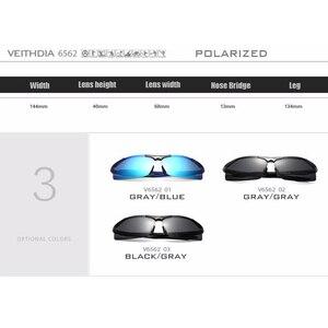 Image 5 - VEITHDIA Aluminum Magnesium Mens  Sunglasses Polarized Men Coating Mirror Glasses oculos Male Eyewear Accessories For Men 6562