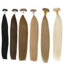 Toysww fusion Кератиновое соединение u образные накладные волосы