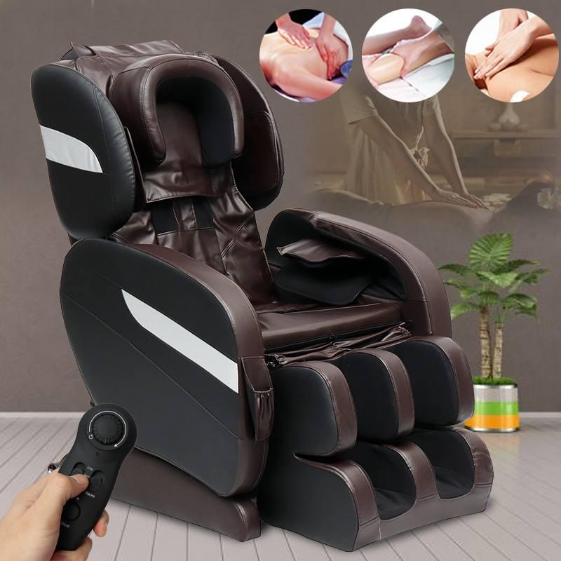 Efficient Home Zero Gravity Massage Chair Electric Heating Recline Full Body Massage Chairs 3D Intelligent Shiatsu Massage Sofa