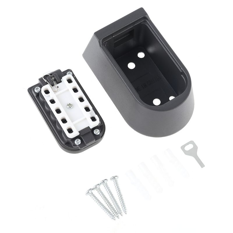 Outdoor Wall Mount Spare Key Safe Storage Box Waterproof Push Button Lock Holder B36A