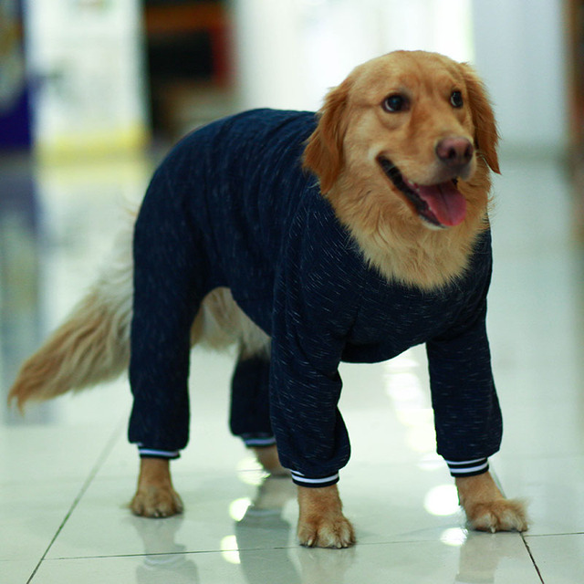 Winter  Large Dog  Jumpsuit Pajamas