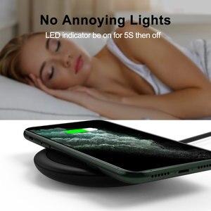 Image 3 - 15W Tề Nhanh Sạc Sạc Nhanh Không Dây USB C QC 3.0 Ga Cho Iphone Samsung S9 Xiaomi Huawei sạc Miếng Lót