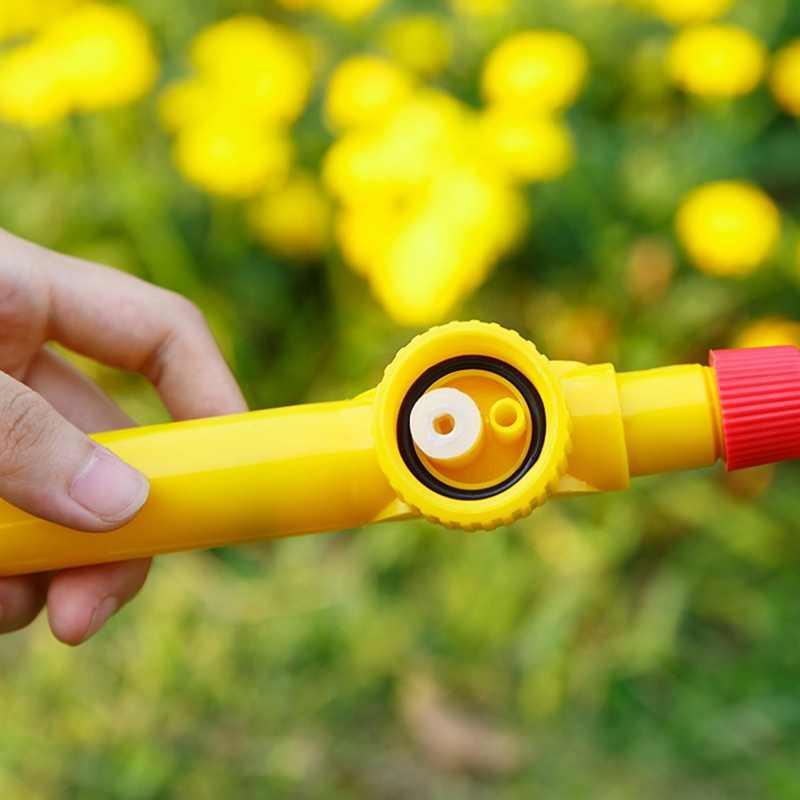 נייד בקבוק מזלף תרסיס יד לדחוף פלסטיק ממטרה זרבובית פרח גן כלי ידני גבוהה לחץ מים תרסיס