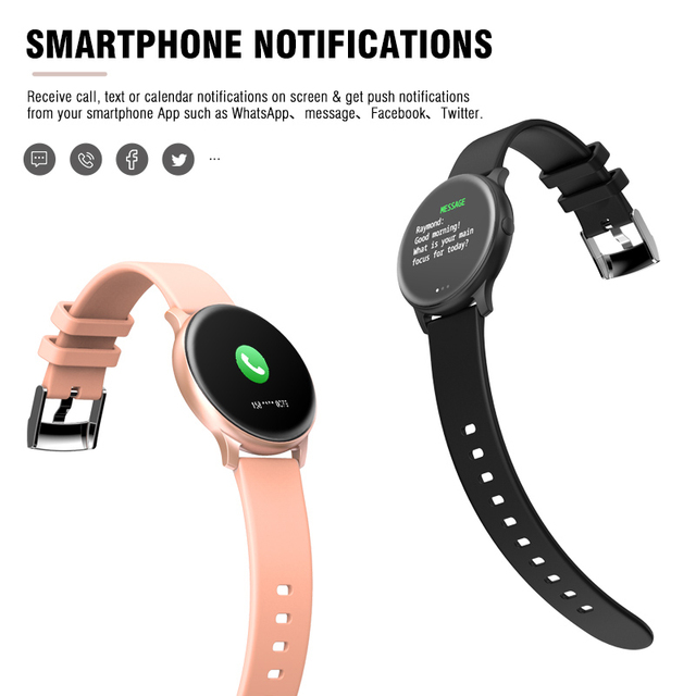 KOSPET Magic Women Smart watch Heart Rate Blood oxygen Sport Bluetooth Men Fitness Trakcer KW19 Smartwatch For Android IOS phone