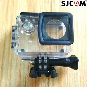 Image 1 - SJ5000X الأصلي اكسسوارات 30M تحت الماء للماء حالة الغلاف الواقي حالة قذيفة ل SJ5000 wifi زائد كاميرا كلوونفيش