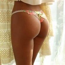 SP & CITY, изящные кружевные прозрачные сексуальные женские трусики с цветочной вышивкой, соблазнительные бесшовные трусики, сексуальные стри...