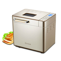 Donlim Bread Machine LCD Fully Automatic Small Multi function Intelligent Bread Maker Ferment Flour Maker DL TM018 Toaster Bread