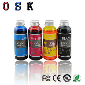 100ML x 4 color Edible Ink For Canon Printer For Cake Chocolate coffee & food printer art coffee drinks printer food printer chocolate printer with food ink free factory supply with ce