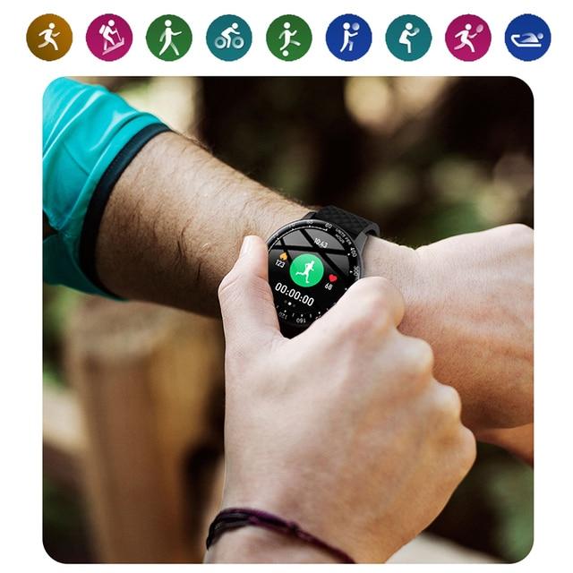 LIGE 2020 New Smart Watch Men Women Watch Heart Rate Monitor Music Control For Android/iPhone IP68 Waterproof Sport Smartwatch 6