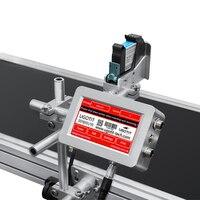 Máquina de impressão da bandeira da impressora da data de expiração do jato de tinta contínuo de ecosolvente de 1 2 4 cabeças