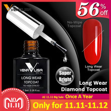 #70916 Venalisa nail art design make up super-flexible shinning long lasting high gloss no wipe tempered toughened glass topcoat
