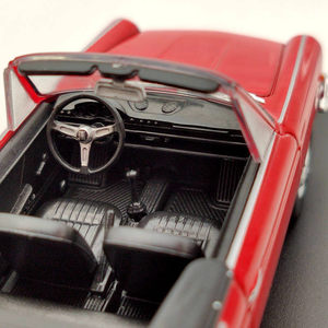 Image 5 - IXO 1/43 For Fiat 800 Spider 1966 Diecast Models Limited Edition Collection Car Toys Gift Red