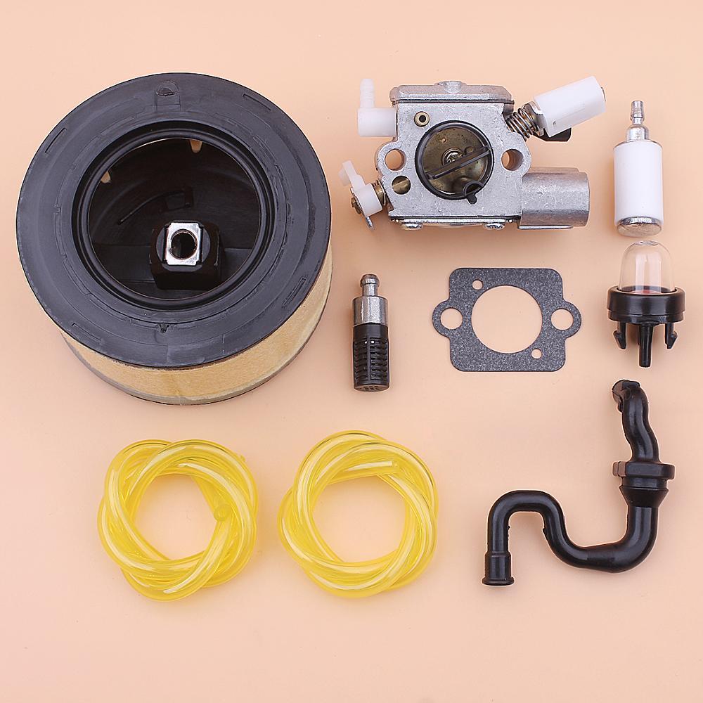 Carburetor Carb For Stihl MS251 MS 251 Air Fuel Oil Filter Line Primer Bulb Kit Chainsaw 1143 120 0617