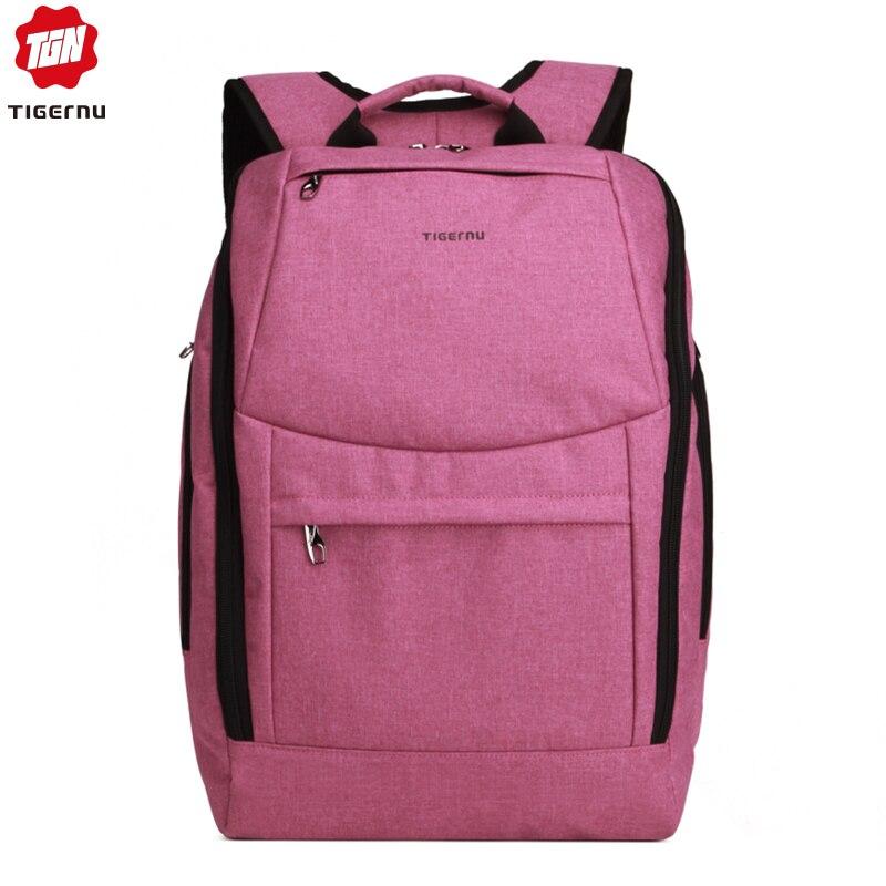 Fashion Women Backpack Tigernu Brand Notebook Bags For 14 Inch Waterproof Backpack Bag Men School Backpack For Teenage Girl