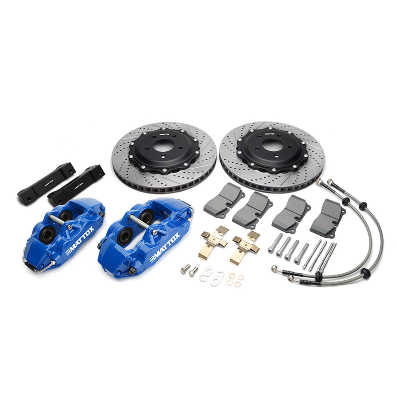 MATTOX CX 3 Racing Brake Kit 4POT Piston Caliper Car Brake Rotor 300*28mm FOR Mazda CX 3 2014 2018 Front Rim 16inch|Caliper & Parts| |  - title=
