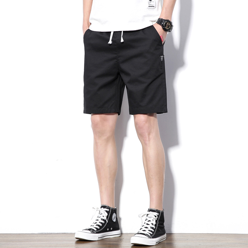Short Men Summer Shorts Men Casual Fashion Mens Breathable Short Pants Cotton Shorts Man 2020 New Fashion Brand Joggers Male