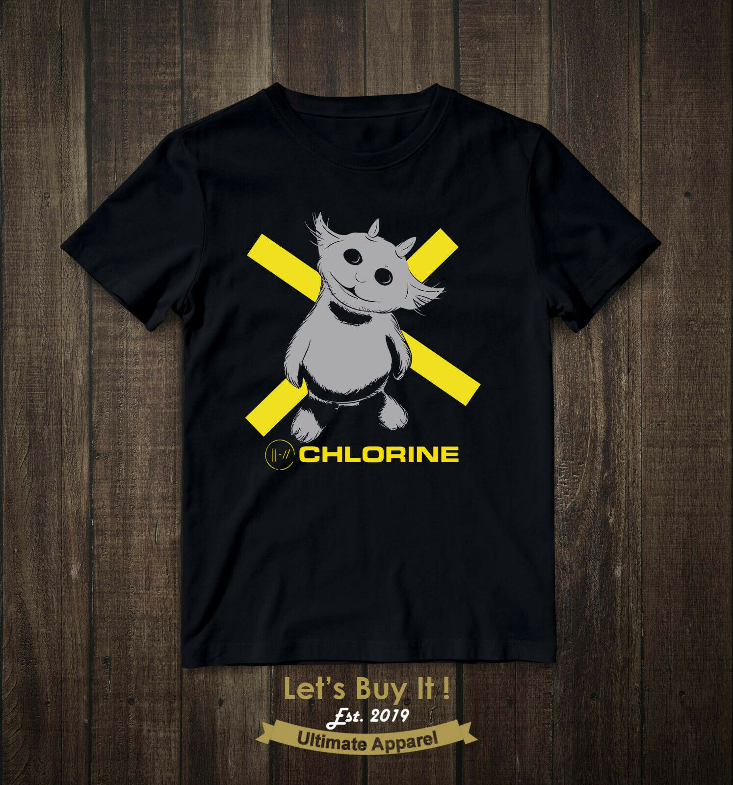 NED Twenty One Pilots TRENCH New Chlorine Album TRENCH 2019 T-Shirt Cotton S-3XL