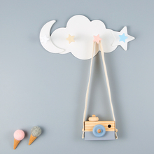 Creative Cartoon Self-Adhesive Punch-Free Hook Stick Wall Mounted Home Kitchen Bathroom Storage Rack Durable Key Holder D40